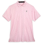 Disney Men's Shirt - Mickey Mouse Performance Polo by Nike - Pink
