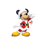 Disney Medium Figure - Couture de Force Santa Mickey