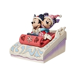 Disney Traditions by Jim Shore - Mickey and Minnie Sledding