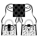Disney Loungefly Crossbody Bag - Steamboat Willie Music Cruise