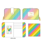 Disney Loungefly Zip Around Wallet - Sequin Rainbow