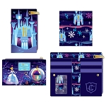 Disney Loungefly Flap Wallet - Cinderella Castle Series