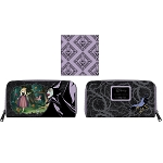 Disney Loungefly Zip Around Wallet - Disney Villains Scene - Maleficent Sleeping Beauty