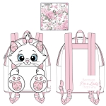 Disney Loungefly Mini Backpack - Marie Floral Footsy