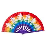 Disney Folding Fan - Rainbow Disney Collection - Mickey Mouse