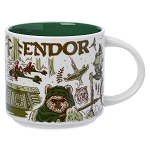 Disney Mug - Starbucks - Been There Series - Star Wars - Endor