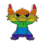 Disney Rainbow Pin - Stitch
