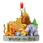 Disney Ornament - Epcot - Classic Winnie the Pooh and Pals