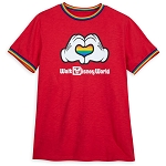 Disney Adult Shirt - Rainbow Disney Collection - Mickey Mouse Heart Hands
