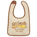 Disney Reversible Bib for Baby - Epcot - Classic Winnie the Pooh