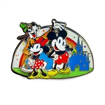 Disney Pin - Rainbow Disney Collection - Mickey Mouse and Friends