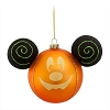 Disney Halloween Holiday Ornament - Mickey Mouse Ears - Pumpkin