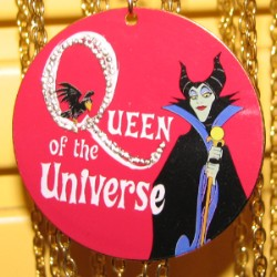 Disney Necklace - Maleficent - Queen of the Universe