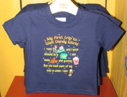 Disney Infant Shirt - Short Sleeve - My First Trip to Disney World