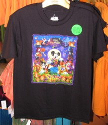 Disney Child Shirt - 2008 Halloween Mickey & Friends