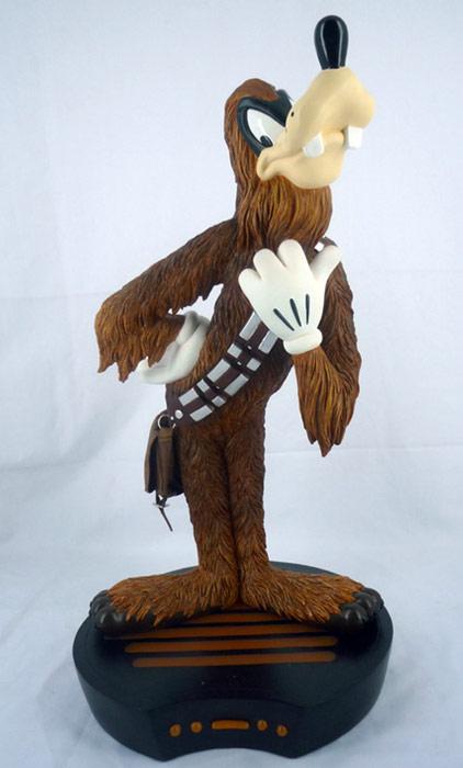 Disney Big Figure Statue Star Wars Weekends 2009 Goofy