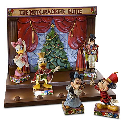 disney traditions by jim shore nutcracker display stage