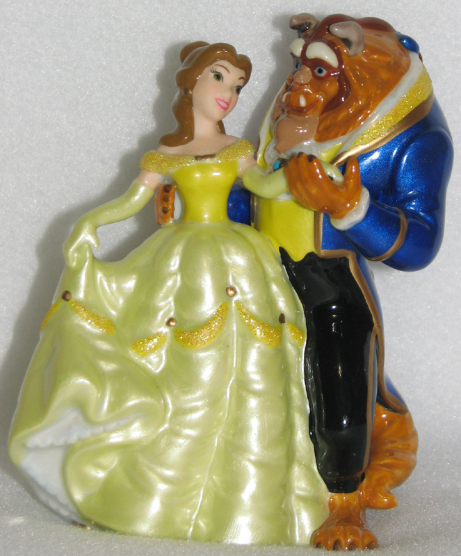 disney wedding cake toppers beauty and the beast your wdw disney cake topper porcelain figure 13592