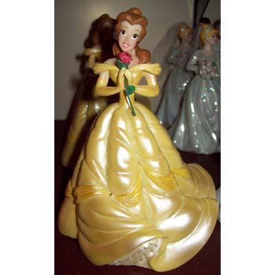 Disney Cake Topper Porcelain Figure Princess Belle