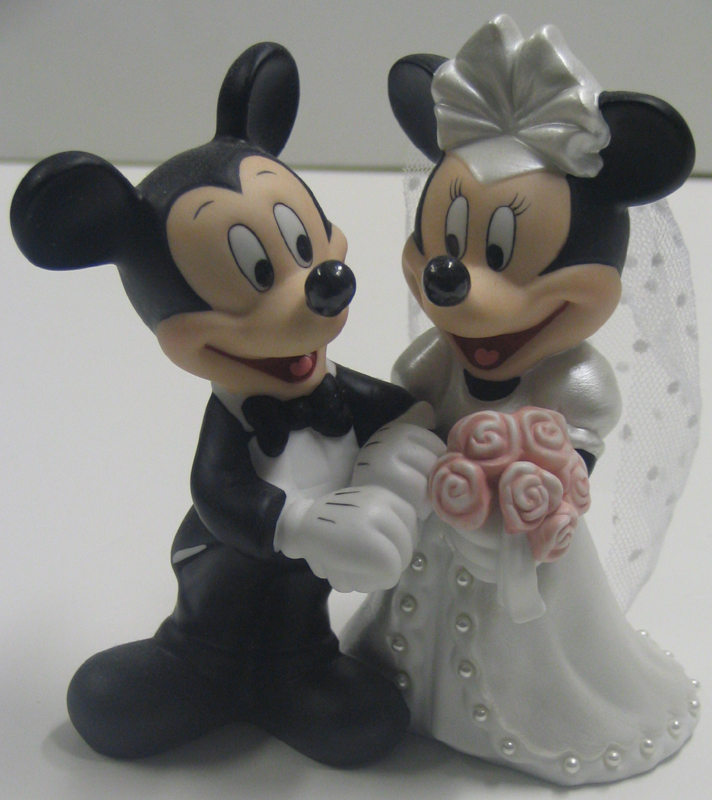 mickey and minnie wedding cake toppers your wdw disney cake topper porcelain figure 17349