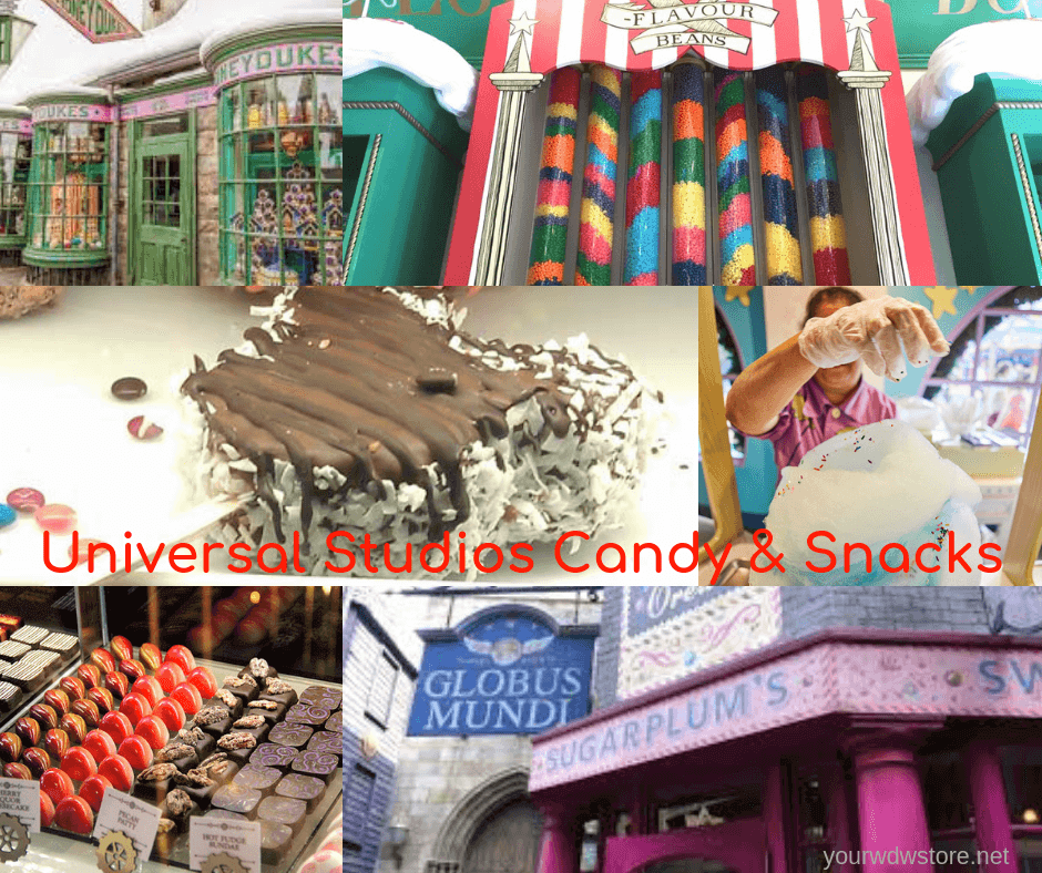 Sweet Treats Straight from Universal Studios!