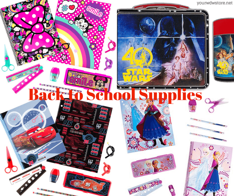 Back to School the Fun Way — with Disney!