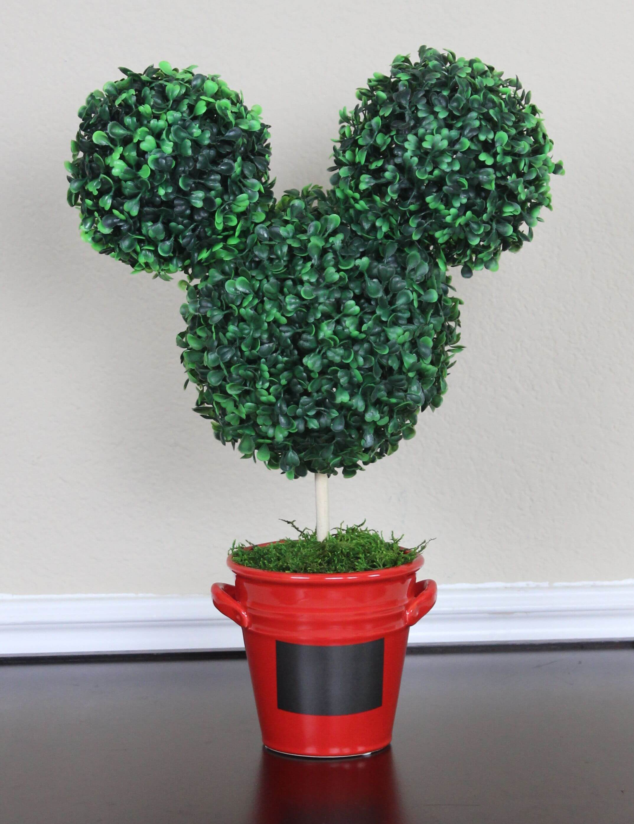 Growing Disney Topiaries