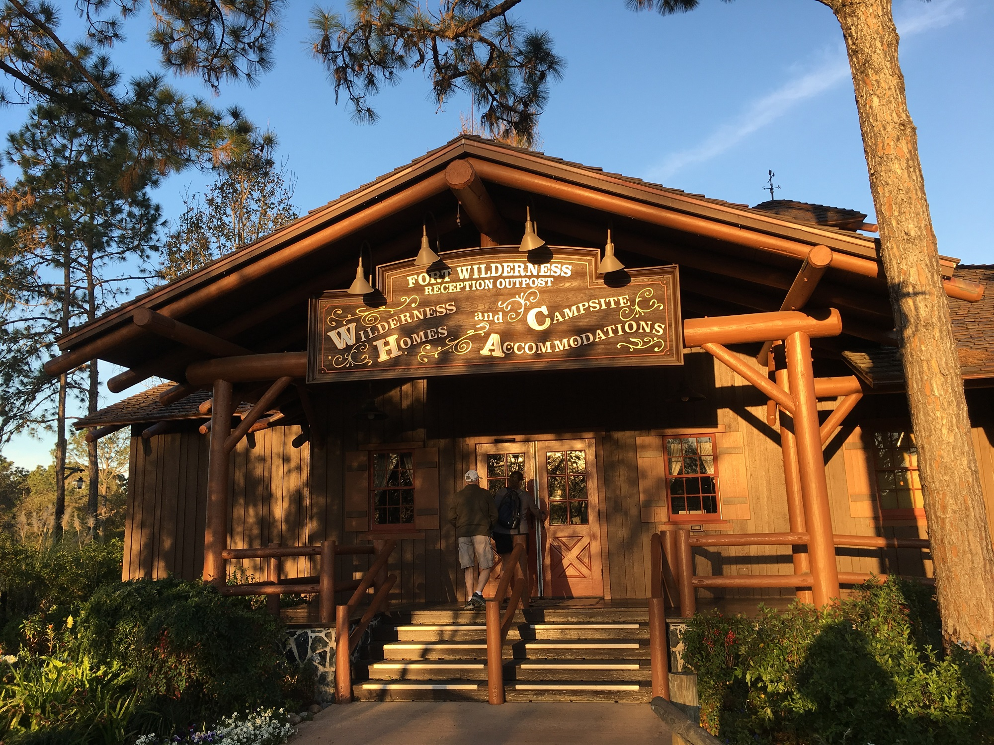 Fort Wilderness Hotel and Camp Site
