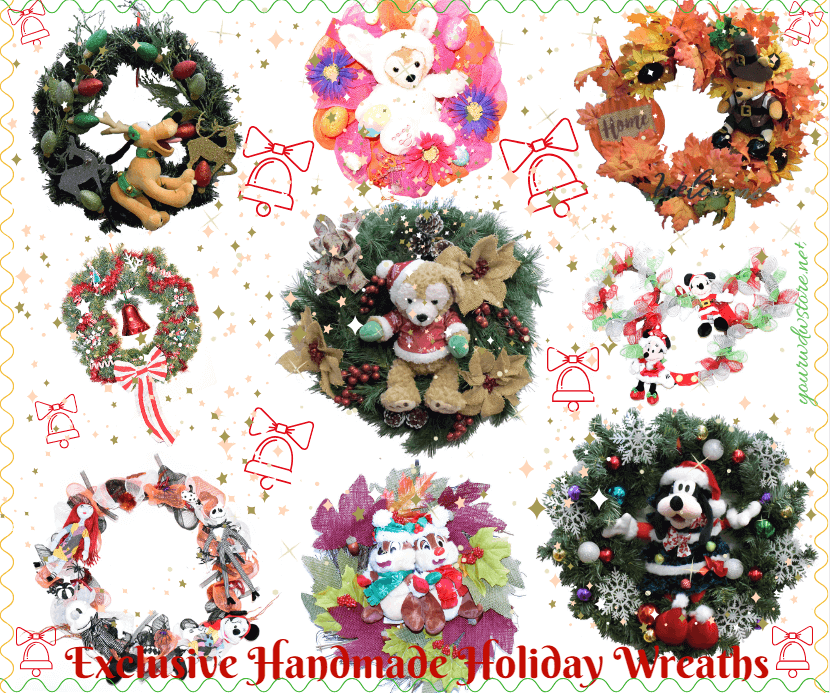 Exclusive Disney Wreaths for the Holidays!