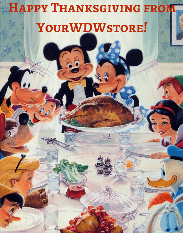 Have a Disney Thanksgiving with Your WDW Store!