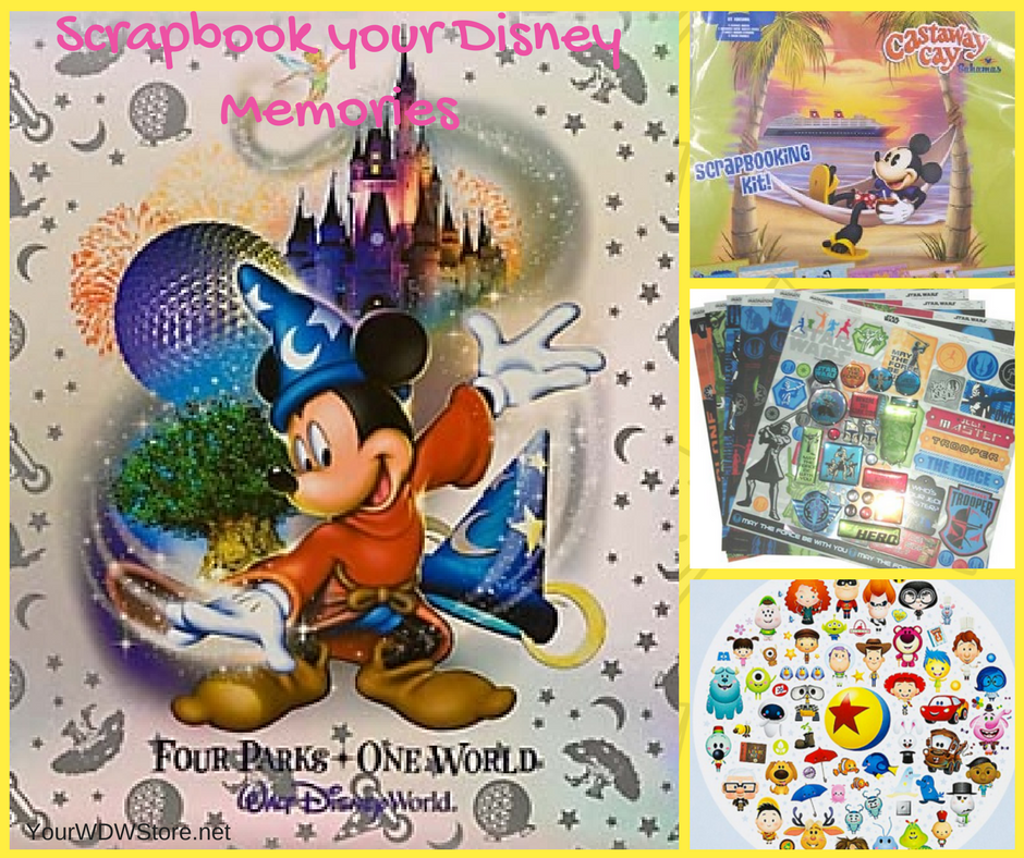 Scrapbook your Walt Disney World Memories with Supplies from YourWDWStore