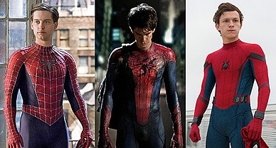 Spiderman Trilogy Actors