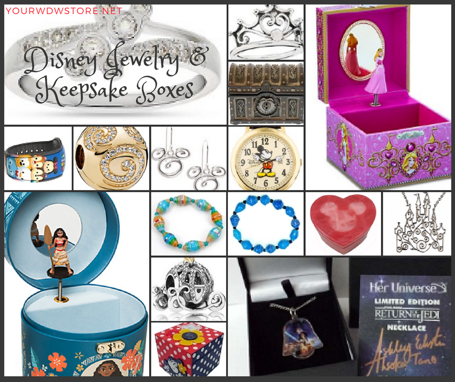 Magical Disney Jewelry at Your WDW Store!