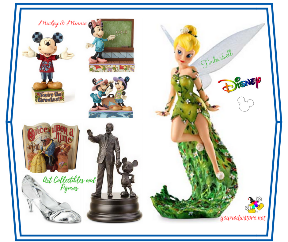 Avid Disney Collectors Rejoice: Art Collectibles and Figures