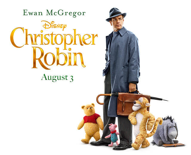Winnie the Pooh and Friends Return This Summer with Christopher Robin