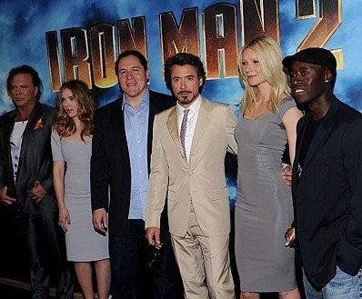 iron man 2 premiere cast and director