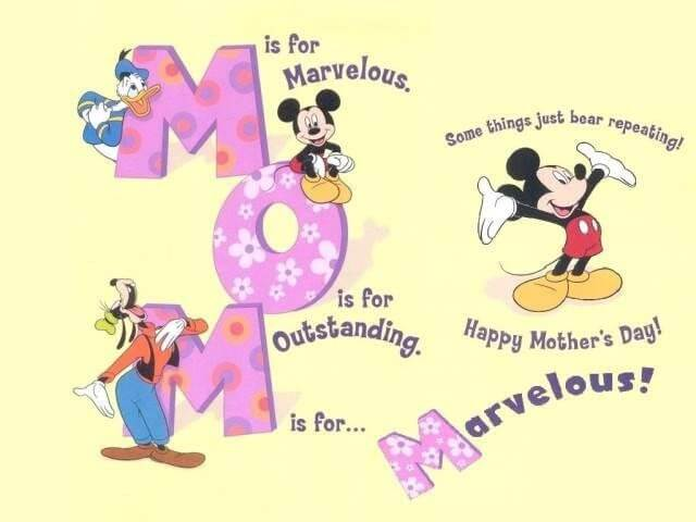 Celebrate Mother's Day the Disney Way