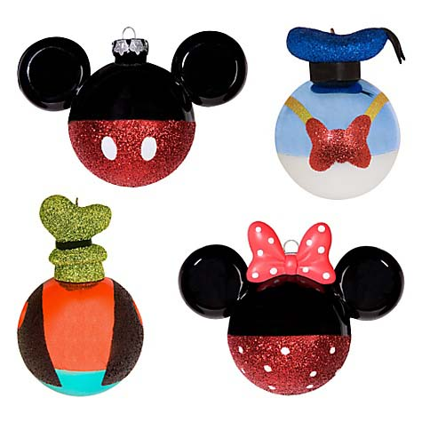 Disney Christmas Ornament Set Of 4 Best Of Mickey Mouse And Pals