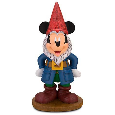 Disney Garden Gnome Figure Mickey Mouse