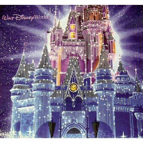 disney throw blanket christmas holiday castle in ice 2010 version