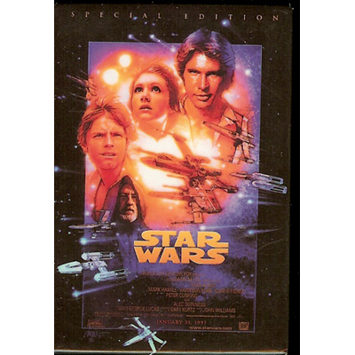 Disney Magnet Star Wars Episode Iv A New Hope Poster