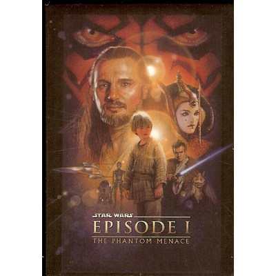 Disney Magnet - Star Wars Episode I The Phantom Menace Poster