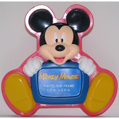 Disney Photo Frame Magnet Magnetic Mickey Mouse Clip