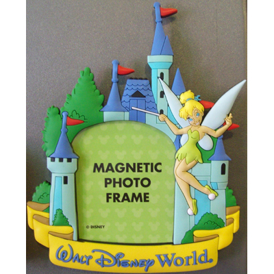 Your WDW Store - Disney Photo Frame Magnet - Tinker Bell Castle ...