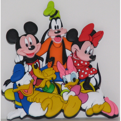 e8591fec48eb8 Add to My Lists. Disney Magnet - Mickey Mouse and Pals Soft Rubber Fab 5