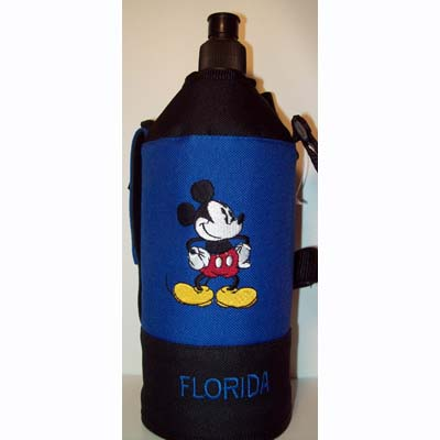 Disney Water Bottle Holder Mickey Mouse Insulated