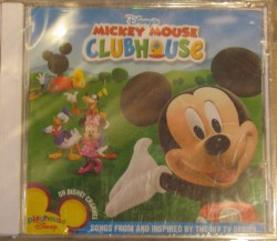 Disney CD - Mickey's Clubhouse - Mickey Mouse Playhouse Disney Music