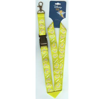 Disney Lanyard - Green with Tinker Bell