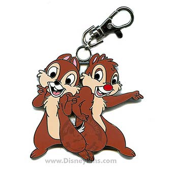 Disney Lanyard Medal - Chip and Dale