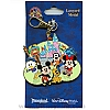 Disney Lanyard Medal - Flexible Cuties Characters